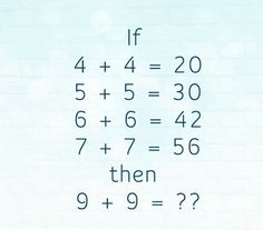Mind Game : Find the value of this Math Puzzles? Logic Math Puzzles and Riddles. Only For Genius Math Puzzles.Best Puzzles and Riddles. Math Riddles With Answers, Number Riddles, Brain Teasers With Answers, Number Puzzles, Math Numbers, Math Logic Puzzles, Math Quizzes, Riddle Puzzles, Math Jokes