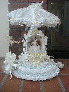 VINTAGE QUINCEANERA PARTY TABLETOP DECORATION FIGURINE