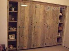 Afbeeldingsresultaat voor kastenwand van oude kasten Armoire, Tall Cabinet Storage, Projects, Furniture, Home Decor, Eindhoven, Google, Kitchens, Clothes Stand