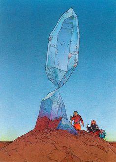 Melt / crystals / Moebius / Embodied <3