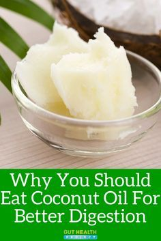 How Coconut Oil Benefits Digestive Health (Health Infographic)   Digestion   Gut Health   Natural Remedies   Holistic   READ: <a href=