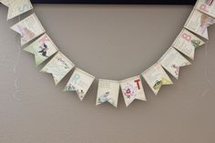 ABC Nursery Rhyme Banner by ThePaperFlag on Etsy