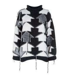 Stella McCartney Oversized Arrow Knit Sweater   Harrods.com