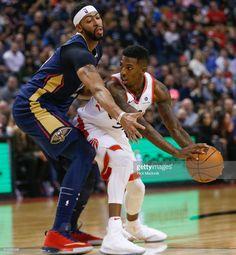 010b4a140 News Photo   Toronto Raptors guard Delon Wright looks to pass... New Orleans