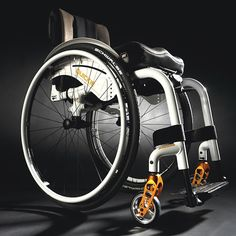 "The compact Quickie Xenon is billed as ""the lightest folding wheelchair in the world."" The chair's progressive and patented flat cross brace..."