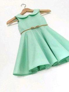 Vestidos casuales con toques glam para niñas