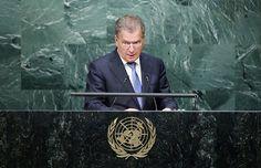 Video: Tasavallan presidentti Sauli Niinistö piti Suomen puheenvuoron YK:n yleiskokouksessa tiistaina 29. syyskuuta.