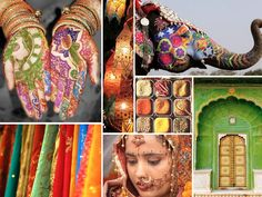 {colors of India} bright and vibrant Indian wedding