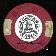 Las Vegas Casino Chip of the Day is a .25c Horseshoe 9th issue Diswrl you can get here http://www.all-chips.com/ChipDetail.php?ChipID=17772