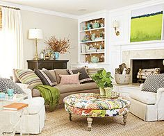Mistake: Wallflower Furniture Article on mistakes in furniture arrangement but this color combo is what I love.