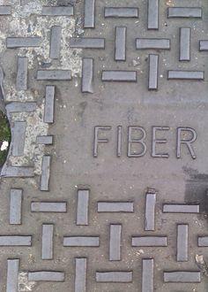 Een woord: FIBER   San Francisco CA, 2013.