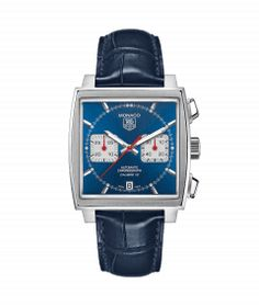 Discover a large selection of TAG Heuer Monaco Calibre 12 watches on - the worldwide marketplace for luxury watches. Compare all TAG Heuer Monaco Calibre 12 watches ✓ Buy safely & securely ✓ Gents Watches, Cool Watches, Watches For Men, Tag Watches, Acm Logo, Monaco Tag Heuer, Ring Armband, Bracelet Cuir, Steve Mcqueen