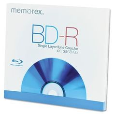 Blu-Ray BD-R Recordable Disc, 25GB by Memorex. $5.74. Uses blue-violet laser technology to support high-definition television recording with excellent HD broadcast quality. Storage up to five times larger than standard DVDs. Record TV shows and sporting events in crystal-clear