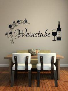Cool Wandtattoo Weinstube