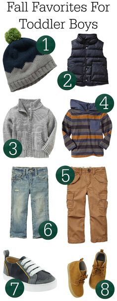 My current favorite picks for Fall Boy Toddler Clothes #gap #oldnavy #toddlerfashion