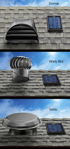 Should we consider a ventilation system for attic such as this Solar Star Solar-powered Attic Ventilation Systems | Solatube
