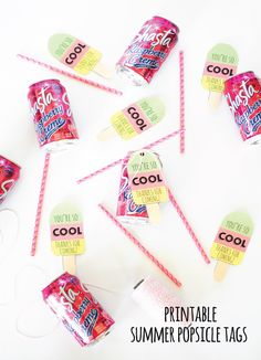 Summer Popsicle Tags