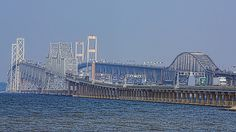 The Chesapeake Bay Bridge in Maryland