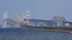 The Chesapeake Bay Bridge in Maryland