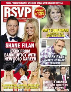 Our August issue featuring Shane Filan, Amy Huberman and many more. Shane Filan, Michelle Keegan, Family Weekend, Weekend Breaks, Amy, Daughter, American, Celebrities, Rsvp