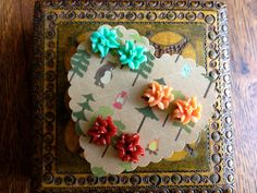 Holiday post earring set of three in by thefrolickingfrog on Etsy