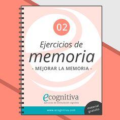 Ejercicios gratis para mejorar la memoria Brain Memory, Alzheimer's And Dementia, Book Girl, Preschool Activities, Book Lovers, Mental Health, Social Media, Exercise, Memories