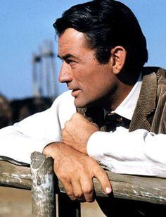 Gregory Peck via @adrianaperegrin. #GregoryPeck #actors