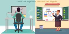 Online MBA programs and Traditional MBA programs are much more difference between them. Traditional MBA needs campus-based business school. You need to attend your classes on time, your timetable should be perfect. You have to be dedicated with our understudy. You can do nothing without your traditional MBA. You should be a very busy schedule.