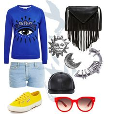 Casual Day Out by whitney-1988 on Polyvore featuring polyvore fashion style Paul & Joe Superga J.J. Winters Stefanie Sheehan Jewelry Equipment