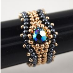 beaded ring - Google Search