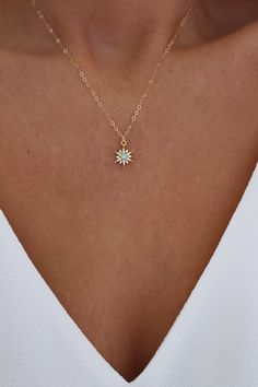 starburst necklace layering north opal star gold tiny and Opal North Star Necklace Opal and Gold Necklace Star Necklace Gold Starburst Necklace Tiny You can find Jewelry necklaces and more on our website Dainty Jewelry, Cute Jewelry, Silver Jewelry, Jewelry Accessories, Jewelry Ideas, Pearl Jewelry, Jewelry Stand, Jewelry Box, Swarovski Jewelry