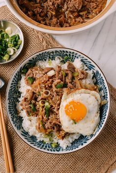 Gyudon (Japanese Beef and Rice Bowl) Recipe by the Woks of Life