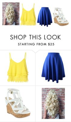 """Untitled #209"" by katelyn-style ❤ liked on Polyvore featuring Glamorous and GUESS"