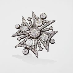 Antique Diamond, Gold and Silver Maltese Cross Brooch, Circa 1880. The Maltese cross, in Italy also known as the Amalfi cross, is the cross symbol associated with the Knights Hospitaller (the Knights of Malta) and by extension with the island of Malta.