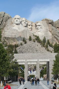 I'd love to visit Mt. Rushmore.