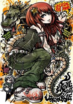 Zerochan has 150 Project. anime images, Android/iPhone wallpapers, fanart, and many more in its gallery. Pretty Art, Cute Art, Pastel Goth Art, Pop Art Images, Graffiti Cartoons, Ange Demon, Donia, Funky Art, Cyberpunk Art