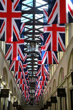 Decorations for the Diamond Jubilee, Covent Garden, London, UK