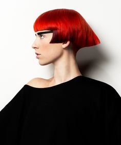 Creativity in Hues of Red   Online Hairdressing Course - MHDPro