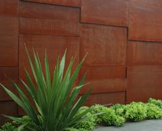 Corten Steel- for an interior or exterior wall or in a garden space or porch