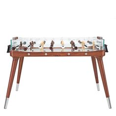Mid-century-style foosball table