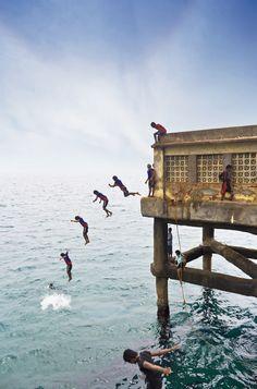Valiathura pier, Trivandrum, Kerala To book go to www.notjusttravel.com/anglia