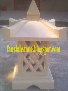 Relief Batu Alam: LAMPION