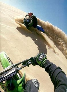 Dune riding! I want to do this badly!
