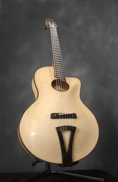 Thorell Gianina - a masterwork! Jazz Guitar, Music Guitar, Cool Guitar, Piano Music, Custom Acoustic Guitars, Custom Guitars, Archtop Guitar, Guitar Collection, Beautiful Guitars