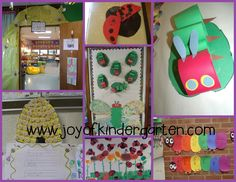 Joy of Kindergarten: Insect Art Ideas and More