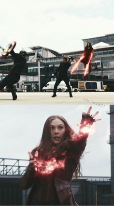 So we know she's strong. Wanda Avengers, Wanda Marvel, Avengers Team, Marvel Heroes, Marvel Avengers, Spider Man Unlimited, Marvel And Dc Characters, Scarlet Witch Marvel, Elizabeth Olsen Scarlet Witch