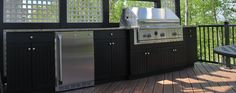 outdoor kitchens made from maintenance-free HDPE | Werever | Tampa, Florida