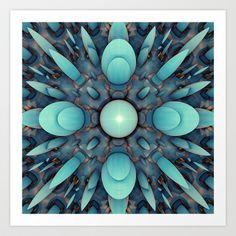 CenterViewSeries107 Art Print by fracts - fractal art - $16.00