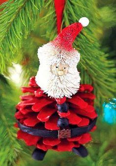 Enfeite Seu Natal Com Pinhas!por Depósito Santa Mariah