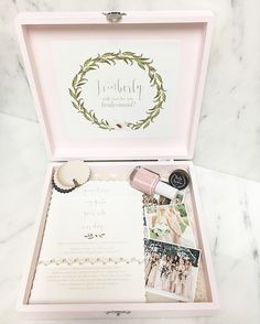 Be my bridesmaid box printable collection champagne gold 16 really pretty will you be my bridesmaid gift sets you have to see solutioingenieria Choice Image